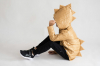 DINO prechodná prešívaná detská bunda