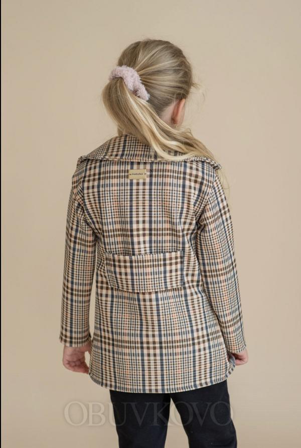 Dievčenský prechodný kabát