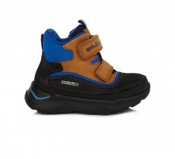Chlapčenská ultraľahká obuv s mebránou D.D.STEP F61-251 choc