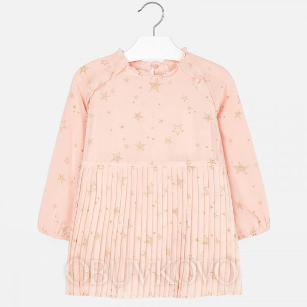 Dievčenské šaty tunika MAYORAL  4966-018 nude