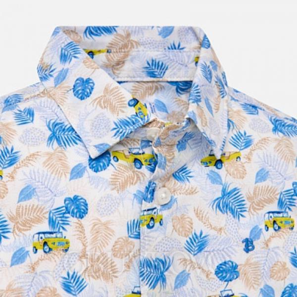 MAYORAL chlapčenská košeľa 1126-059 citrus