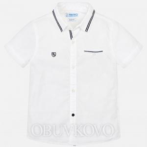 MAYORAL chlapčenská košeľa3129-068 white