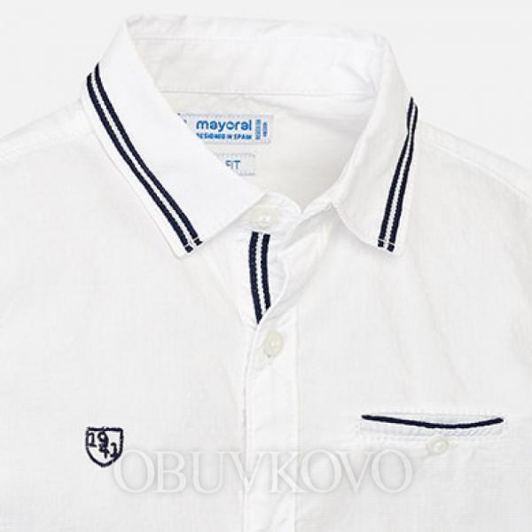 MAYORAL chlapčenskéá košeľa3129-068 white