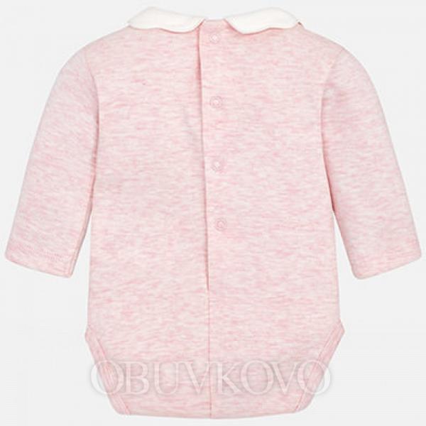 Dievčenské bavlnené body  MAYORAL 163-039  rose