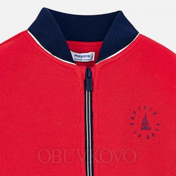 MAYORAL chlapčenská mikina 3426-094 red