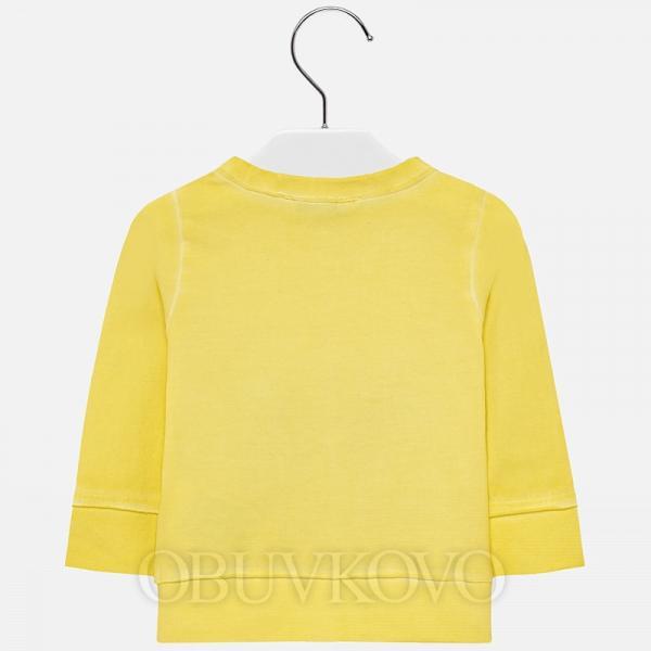 MAYORAL dievčenský bavlnený sveter 1413-014 Citrus