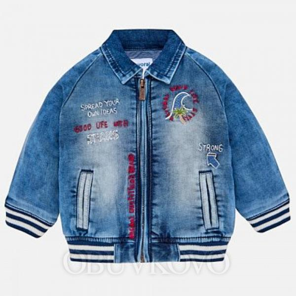 MAYORAL chlapčenský rifľový kabát  1430-005 denim