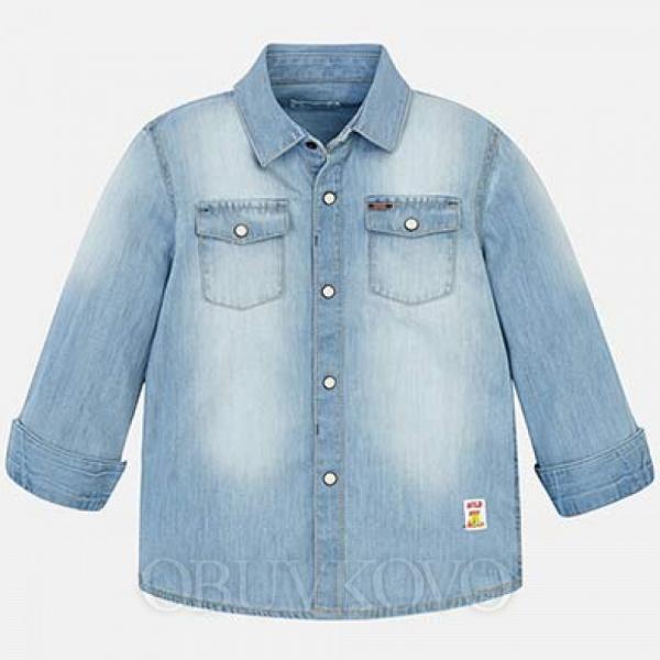 MAYORAL chlapčenská košeľa 3144-035 denim