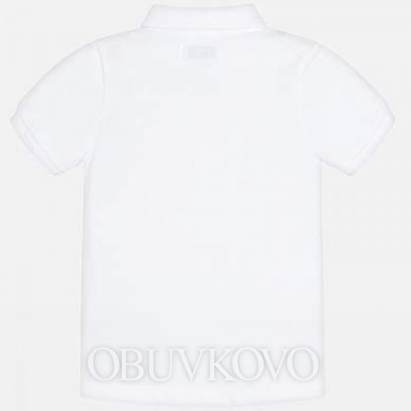MAYORAL chlapčenská poľokošeľa 150-018 White