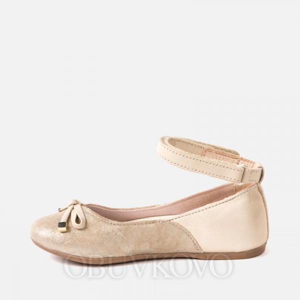 MAYORAL balerínky dievčenské 45021-066 gold