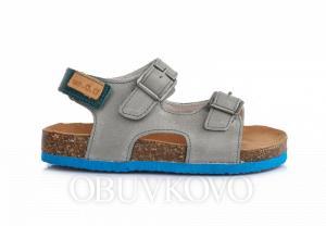 D.D.STEP korkové sandále AC051-3AM grey