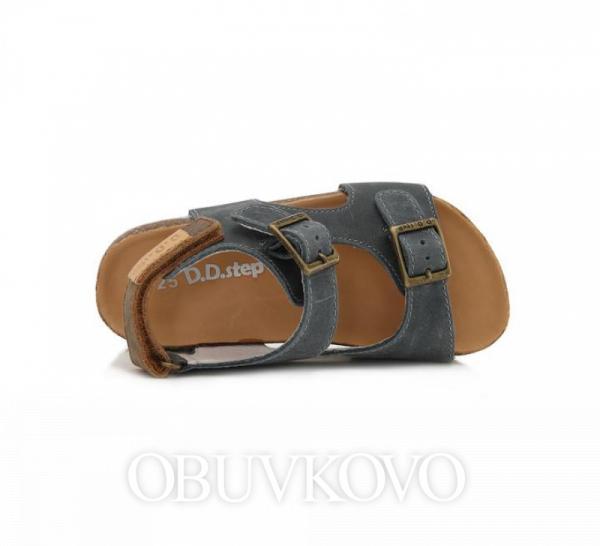D.D.STEP korkové sandále AC051-2M royal blue