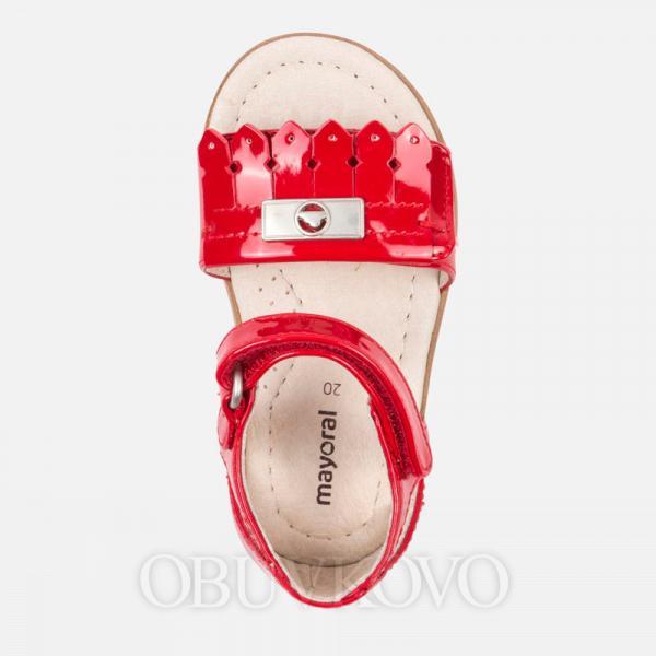Dievčenské letné sandále červené MAYORAL 41032-091 Red