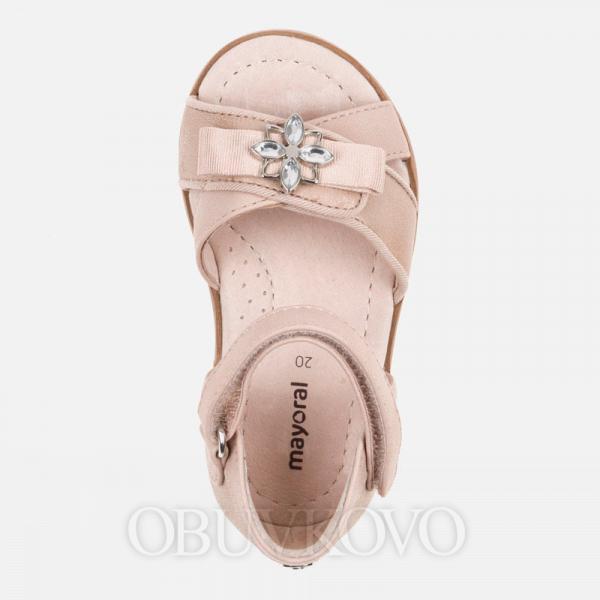Dievčenské letné sandále rosegold MAYORAL