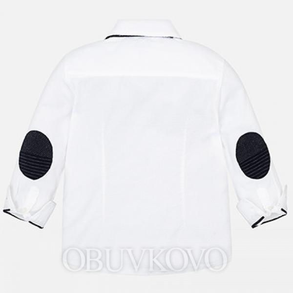 Chlapčenská košeľa s motýlikom MAYORAL 4126-083 White