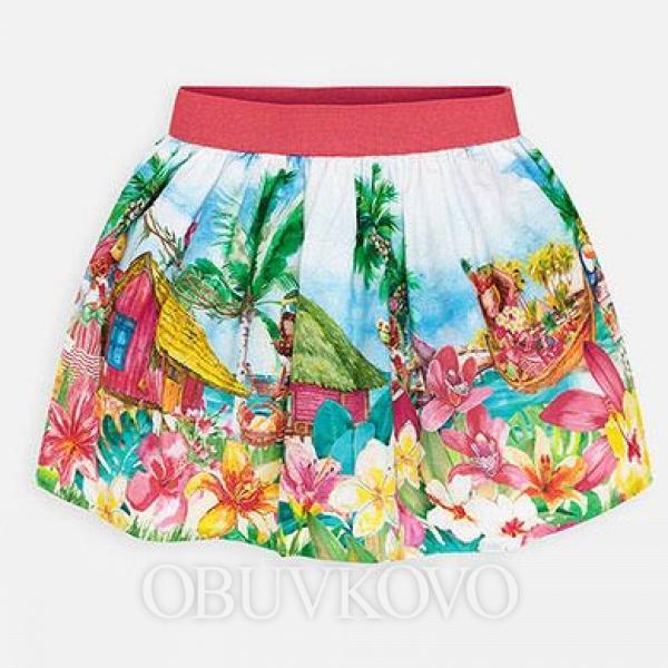 MAYORAL letná dievčenská sukňa 3906-007