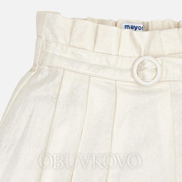 MAYORAL dievčenská sukňa 3902-002 champagne