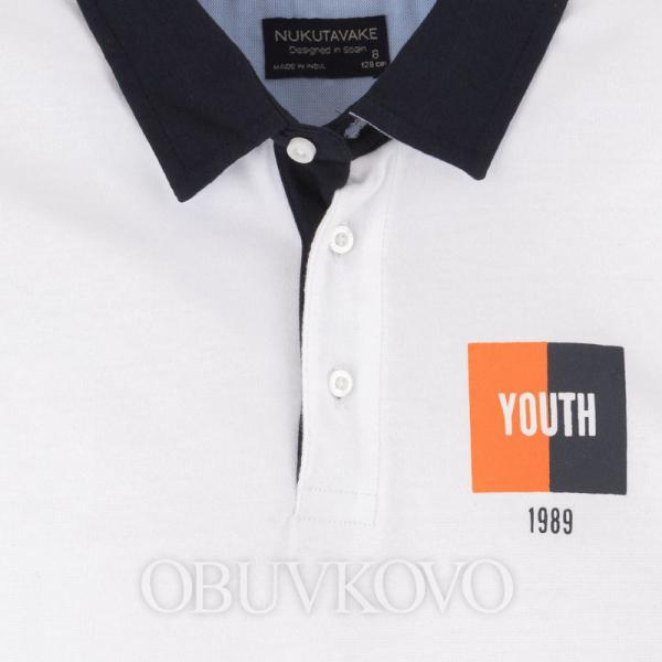 MAYORAL polokošeľa pre chlapca 06146-062 white