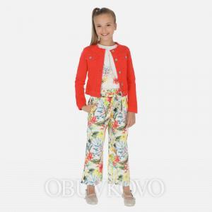 Dievčenské letné MAYORAL nohavice 06531-082 persimmon