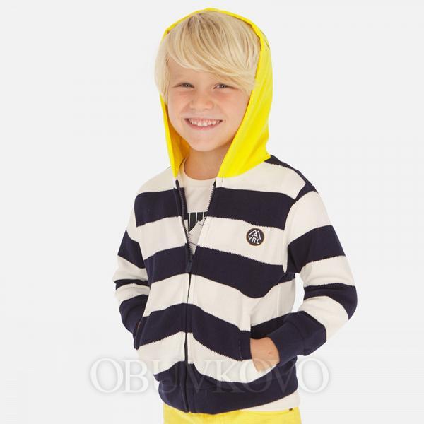 MAYORAL chlapčenská mikina pásikavá 3440-024