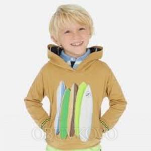 MAYORAL chlapčenská mikina s kapucňou 3439-026