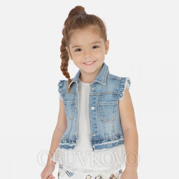 MAYORAL rifľová dievčenská vesta 3322-084