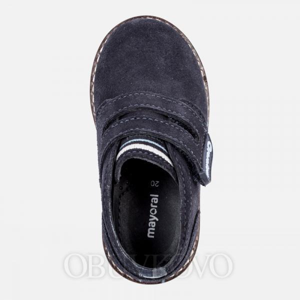MAYORAL chlapčenská obuv z brúsenej kože  42058-078 navy