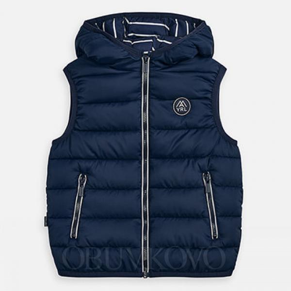 MAYORAL chlapčenská vesta s kapucňou 3459-021