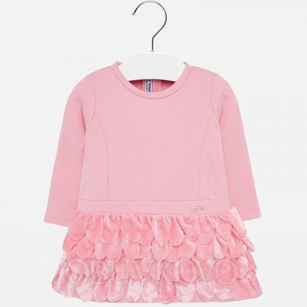 MAYORAL dievčenské šaty 2907-088 rose
