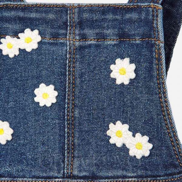 MAYORAL kombinovaná sukňa na traky 1904-005 denim