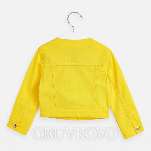 MAYORAL žltá riflová bundička 3466-053 yellow