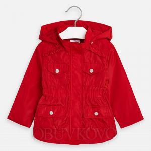 MAYORAL červený prechodný dievčenský kabátik 3471-067 red