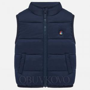 Modrá chlapčenská vesta MAYORAL 1466-053 navy