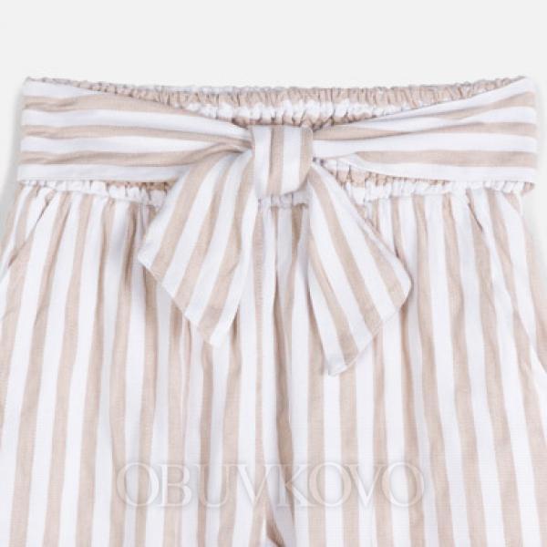 Dievčenské  MAYORAL nohavice s pásikmi 6534-020