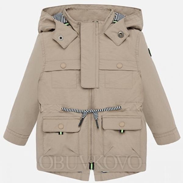 MAYORAL chlapčenská parka - kabát 1462-019 ocher