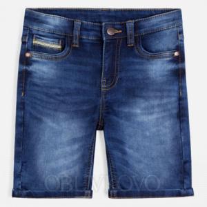 MAYORAL chlapčenské krátke riflové nohavice 06235-037 dark