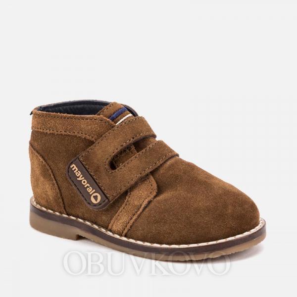 MAYORAL chlapčenská obuv z brúsenej kože  42058-076