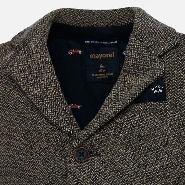 MAYORAL chlapčenské sako kabátik 2442-069 grey