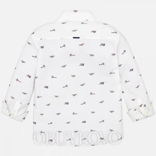 MAYORAL chlapčenská košeľa 4121-063 white