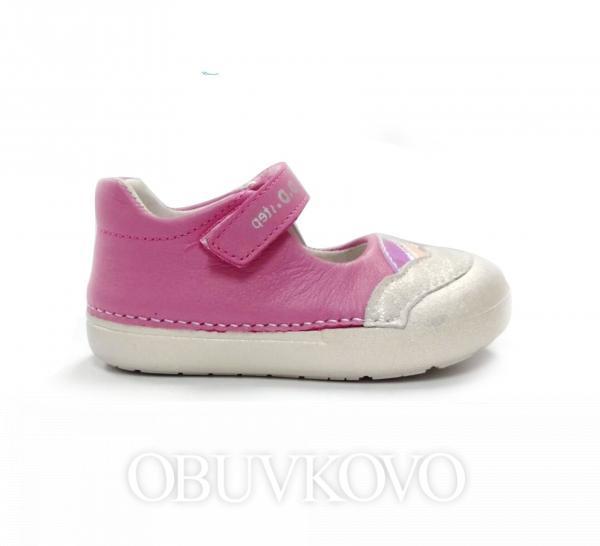 D.D.STEP BAREFOOT baleríny 066-22BT pink