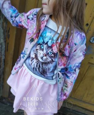 Dievčenská sukňa PINK