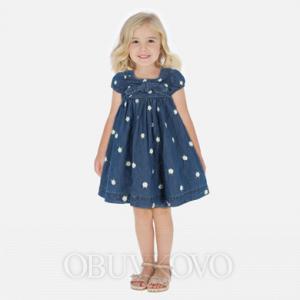 MAYORAL rifľové šaty 3949-005 denim