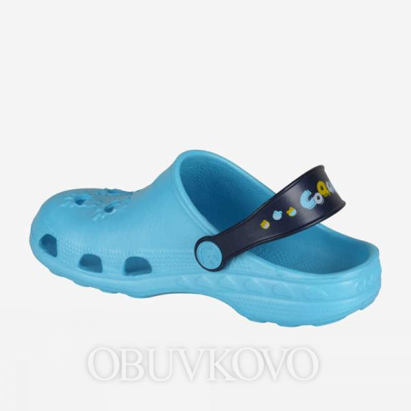 Chlapčenské crocsy COQUI LITTLE FROG 8701 blue/navy