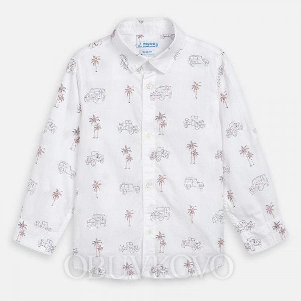 MAYORAL chlapčenská košeľa 3175-09 caro