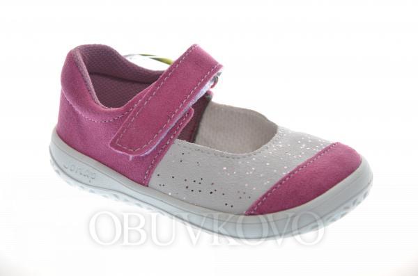 Barefoot dievčenské baleríny JONAP pink
