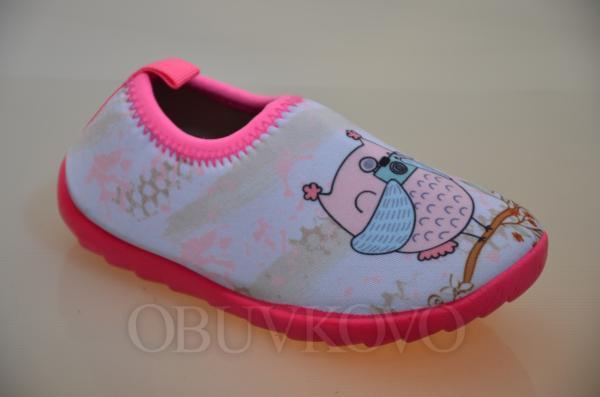 Detská barefoot obuv PINK
