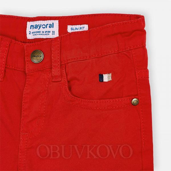 MAYORAL chlapčenské nohavice 509-014 Hibiscus