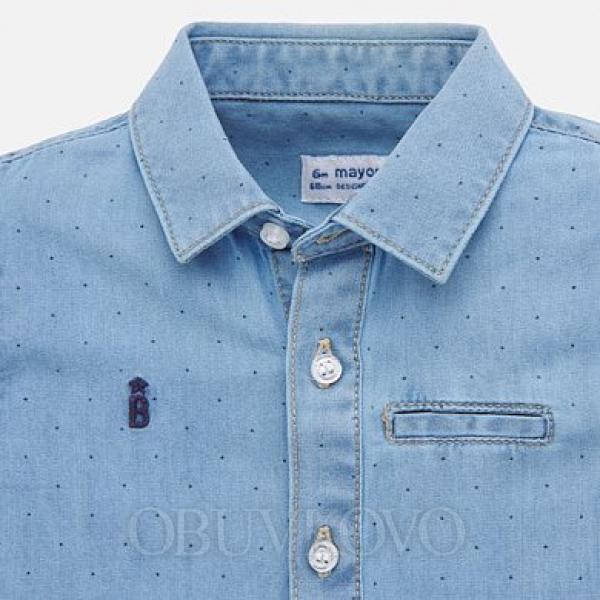 Chlapčenská rifľová košeľa MAYORAL 1156-005