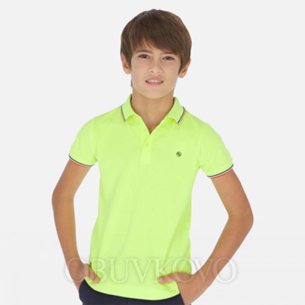 MAYORAL polokošeľa pre chlapca6143-078 citrus