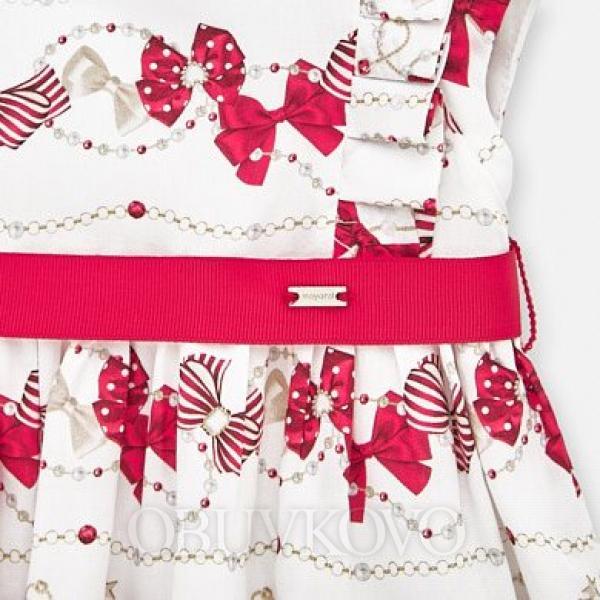 MAYORAL dievčenské vzorované šaty 1911-042